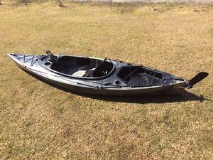 Riot Quest 10 HV angler 10 ft kayak with rudder system