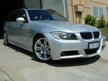 2007 BMW 323I E91 M-Sport Silver 6 Speed Automatic Wagon Willagee Melville Area Preview