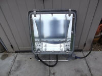 Phillips Optivision Floodlight for yard or storage area, heavy duty see images.