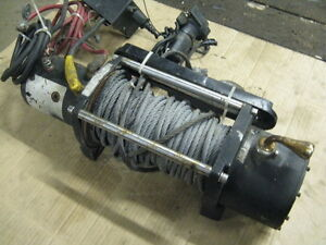 Heavy 12 Volt Winch (Not Working)