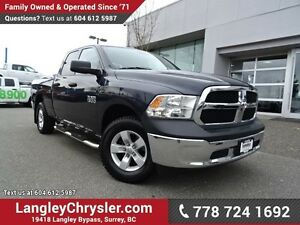 2013 RAM 1500 ST ACCIDENT FREE w/ 4X4, TOW PACKAGE & U-CONNEC...