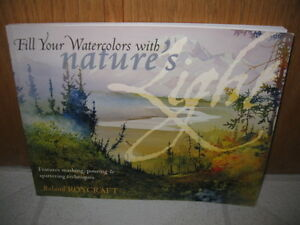 Watercolour painting book