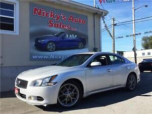 2011 Nissan Maxima 3.5 SV, LEATHER, SUNROOF, PADDLE SHIFT, 35KM!