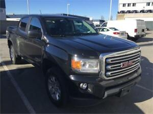2015 GMC Canyon 4WD SLE BLACK V6 CREW(JUST 47,200 KMS) ONE OWNER