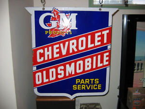 Wanted OLD GENERAL MOTORS ITEMS