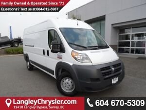 2017 RAM ProMaster 2500 High Roof *ONE OWNER*LOCAL BC VAN*
