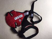 Baby Björn Active Front Carrier Black/Red - Like NEW