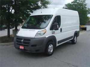 2014 Ram ProMaster 1500  / 3 SEATER / HIGH ROOF