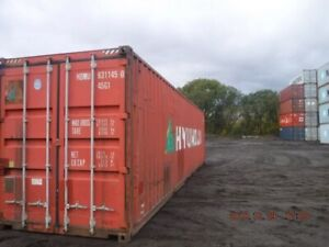 40' High Cube Storage Containers. Shipping Containers.