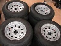 NEW TRAILER TIRES AND WHEELS ** BIG SAVING!!
