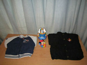Mickey Musical Box, Jacket, Coat & Mickey Toy