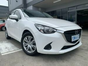 2017 Mazda 2 DJ2HAA Neo SKYACTIV-Drive White 6 Speed Sports Automatic Hatchback Fyshwick South Canberra Preview