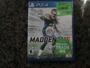 Madden 15 - Play Station 4 - PS4 Cambridge Kitchener Area image 1