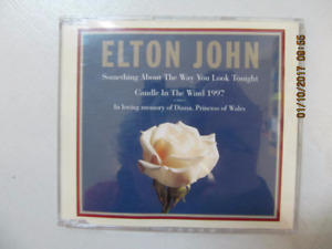 Classic Elton JohnCandle In TheWind 1997CD PrincessDiana Tribute