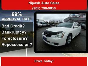 2007 Nissan Maxima 3.5,FULLY LOADED,LEATHER,SUNROOF,VERY CLEAN!!
