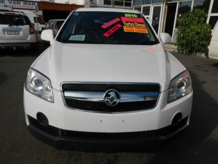 2010 Holden Captiva CG MY10 SX (fwd) White 5 Speed Automatic Wagon Clyde Parramatta Area Preview