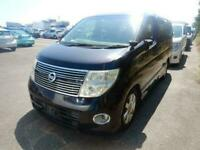 2007 Nissan Elgrand 250 Highway Star V6 Black Leather Edition Series 3 FRESH IMP