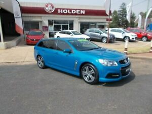 2014 Holden Commodore SV6 Blue Automatic Wagon Young Young Area Preview