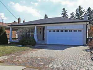 Three or Possible Four bedroom Detached Bathurst and Finch