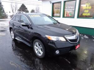 2014 Acura RDX AWD V6 for only $186 bi-weekly all in!