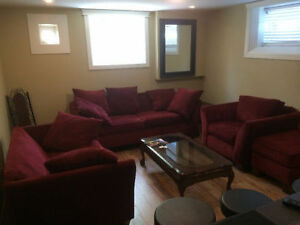 Furnished 2BD/1.5BA BSMT Suite - Private Entry - July 1st