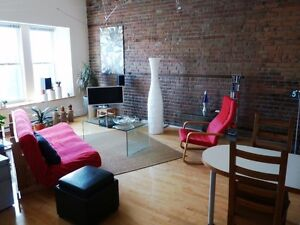 Loft style apartment with 1 enclosed bedroom - @ Metro Mont-Roya