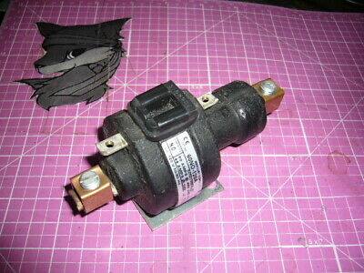 60no-120a Mercury Contactor 120 Volt Coil Mdi 60 Amps 400 Vac New Old Stock