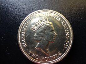 Tercentenary £2 coin