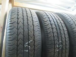 225/60R16 PAIR OF 2 ONLY USED FIRESTONE A/S TIRES