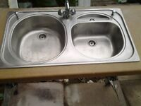 sink top with tap