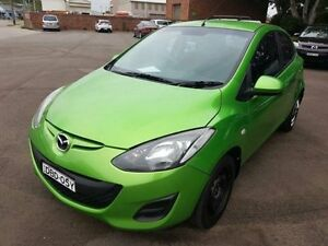 2011 Mazda 2 DE MY10 Neo Green 5 Speed Manual Hatchback Georgetown Newcastle Area Preview