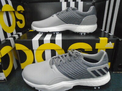 ADIDAS ~ ADIPOWER 4ORGED ~ GOLF SHOES ~ F34192 ~ GRAY/NAVY ~ SIZE 12 US
