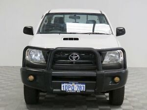 2011 Toyota Hilux KUN26R MY11 Upgrade SR (4x4) White 5 Speed Manual Dual Cab Pick-up Jandakot Cockburn Area Preview