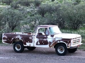 1962 F250 Arizona Truck For Sale!