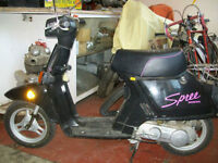 1986 HONDA SPREE SCOOTER 50cc TOTALLY AUTOMATIC 100MPG