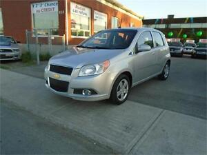 CHEVROLET AVEO LT 2009 ++toit ouvrant,a/c &+++ 27$/SEMAINE****