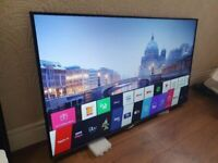 "55"" LG SMART SUHD 4K WIFI 6MONTH OLD CAN DELIVER"