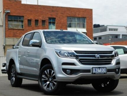 2018 Holden Colorado RG MY19 LTZ Pickup Crew Cab 4x2 Silver 6 Speed Sports Automatic Utility Preston Darebin Area Preview