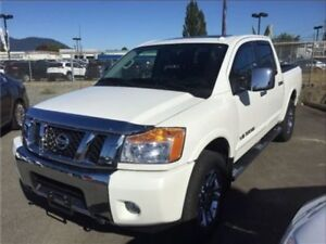 2015 Nissan Titan SL 4X4 CERTIFIED PRE OWNED 1 OWNER BC