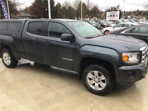 2015 GMC Canyon 4WD SLE (ONLY 16,000 KMS) CANOPY & TRAILER HITCH