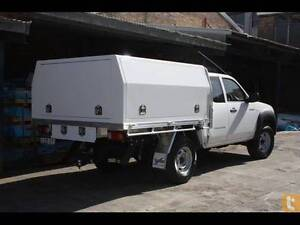 White Powder Coated Aluminium Ute Toolbox/ Canopy 8*6 Single Cab O'Connor Fremantle Area Preview