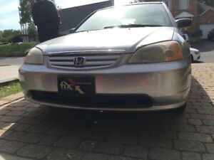 2003 Honda Civic Silver