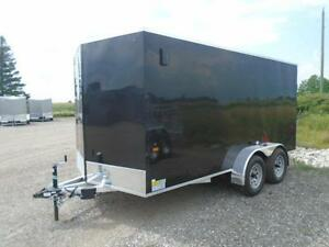 ALL ALUMINUM ENCLOSED CARGO 7X14 PRICED TO SELL QUICK !! London Ontario image 2