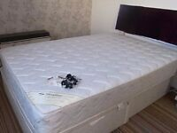 Double bed for sale - as new