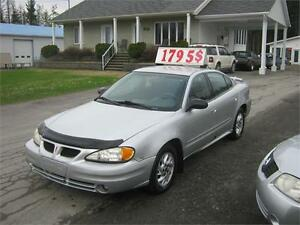 Pontiac Grand Am SE 2004 PETIT BUDGET !!!