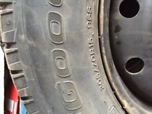 Used winter tires and rims Prince George British Columbia image 2