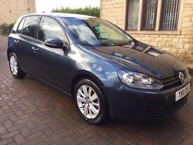 "2011 VOLKSWAGON GOLF 1.4 TSI Petrol ""Excellent Condition low mileage"""