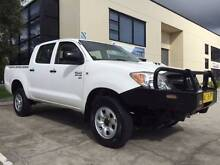 2008 Toyota Hilux Ute Diesel 4x4 KUN26R Wyongah Wyong Area Preview