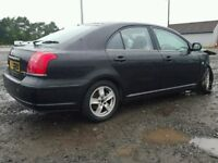 TOYOTA AVENSIS 2.0 D4D 2004-2008 BREAKING FOR SPARES TEL 07814971951 HAVE FEW IN STOCK