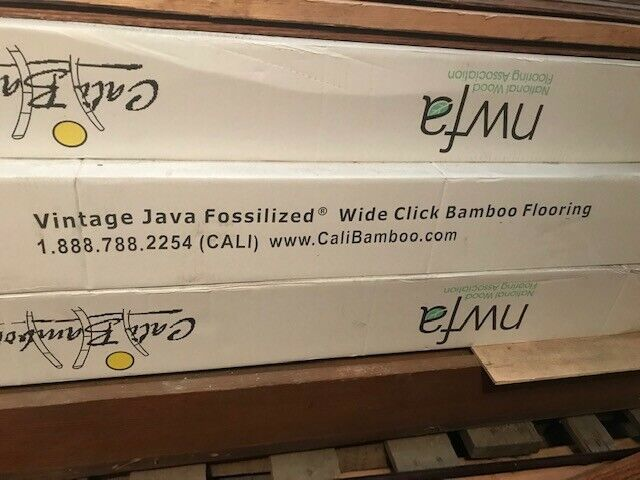 Cali Bamboo Vintage Java Fossilized Wide Click Bamboo Flooring